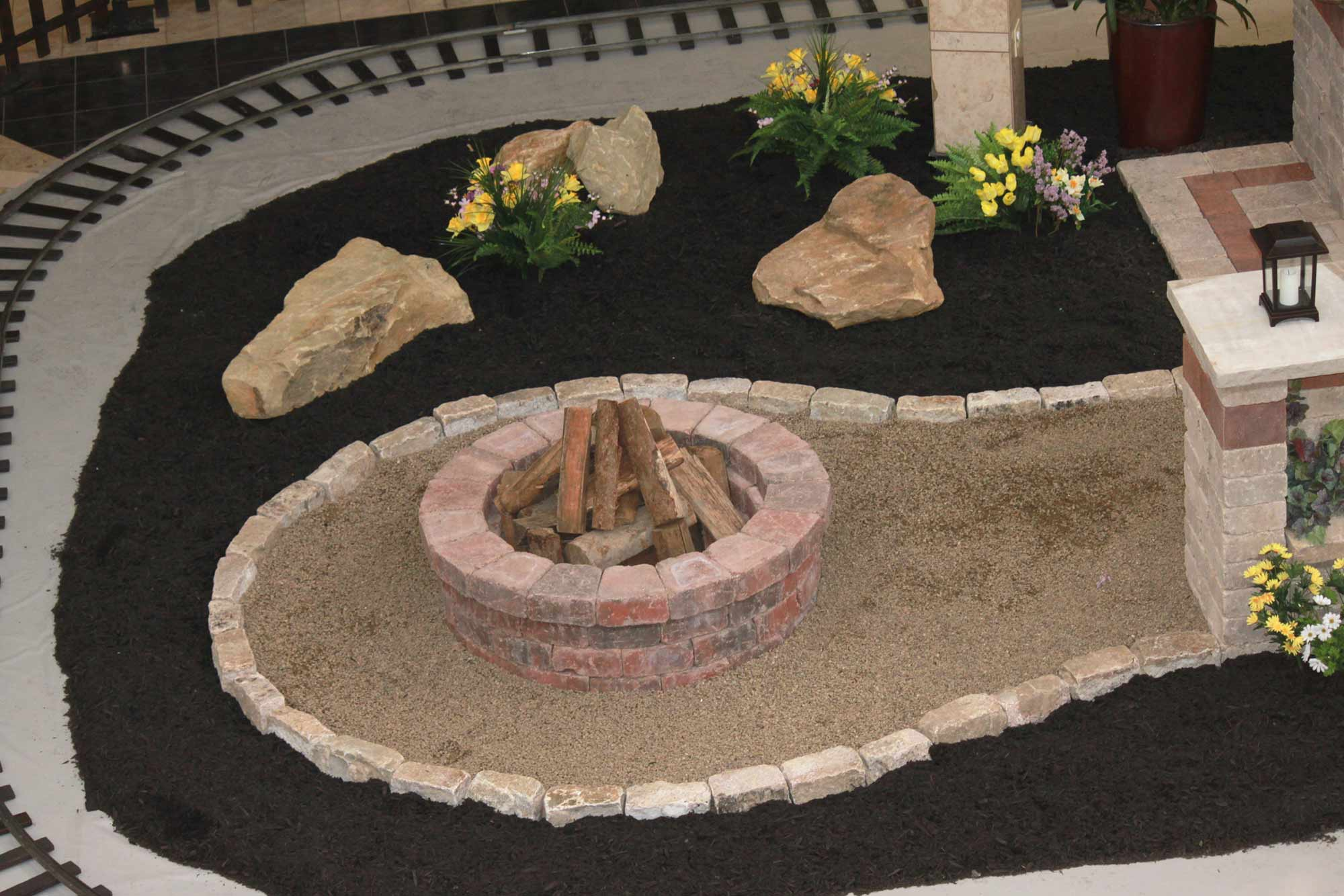 Fire pit Installation Pittsburgh