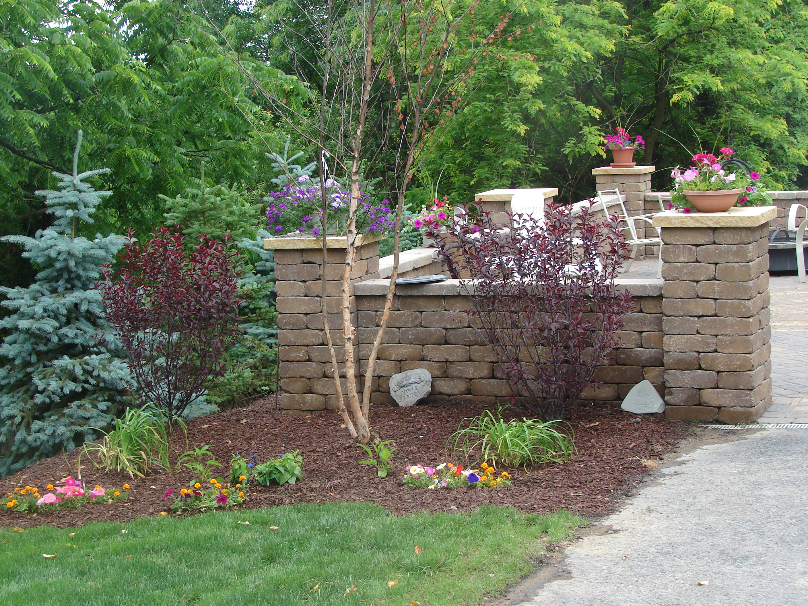 Retaining Wall Installation North Hills